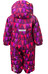 Color Kids Rimah Mini Padded Coverall AOP Dark Purple